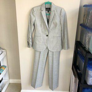 J. Crew light grey super 120's two piece suit 0P